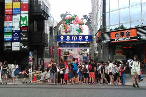 AgathA スタジオ ウォーキングビューティスクール ウォーキング レッスン 東京 ハイヒール 歩き方教室 竹下通り